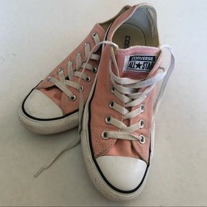 Light Pink Coral All Star Converse Size 7